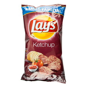 Potato Chips, Ketchup (255 g) - LAY'S