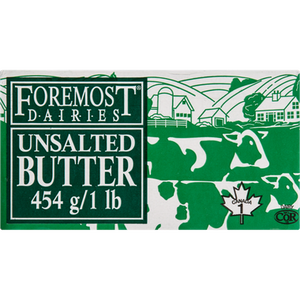 Butter, Unsalted (454 g) - FOREMOST
