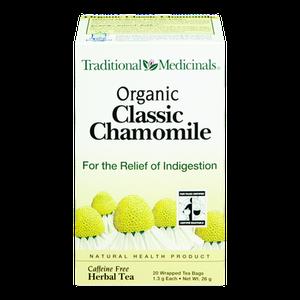 Organic Classic Chamomile Herbal Tea (20 ea) - TRADITIONAL MEDICINALS