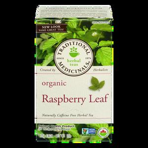 Organic Raspberry Leaf Herbal Tea (20 ea) - TRADITIONAL MEDICINALS