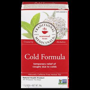 Cold Formula Herbal Tea (20 ea) - TRADITIONAL MEDICINALS