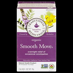 Organic Herbal Laxative Tea (20 ea) - TRADITIONAL MEDICINALS