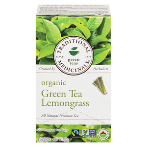 Organic Golden Green Tea with Lemongrass (20 ea ) - TRADITIONAL MEDICINALS