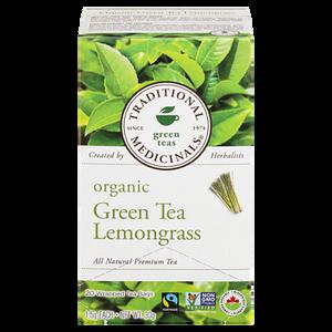Organic Golden Green Tea with Lemongrass (20 ea ) - TRADITIONAL MEDICINALS