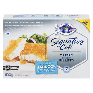 Signature Breaded Haddock (600 g) - High liner