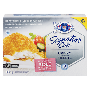 Signature Breaded Sole Fillets (680 g) - High liner