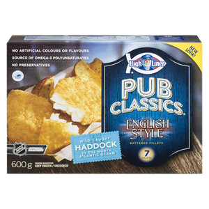Signature English Style Haddock (600 g) - High liner