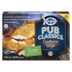 Signature Southern Style Cod Fillets (680 g) - High liner