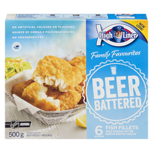 Captain's Catch Beer Battered Fillets (500 g) - High liner