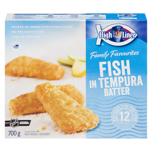 Fish In Tempura Batter, Family Pack (700 g) - High liner