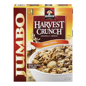 Harvest Crunch Cereal (1.6 kg) - QUAKER