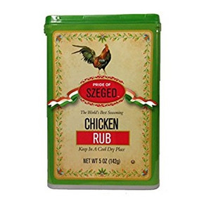chicken Rub Seasoning 5 OZ - SZEGEO