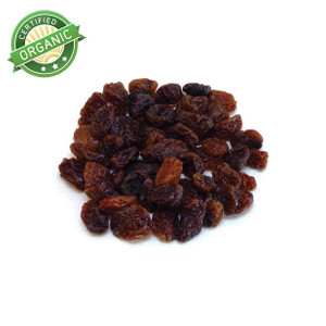 Organic Sultana Raisins (1/2 lb)