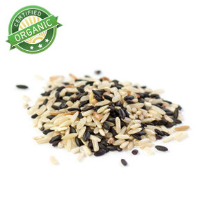 Organic Ancient Black Rice Blend Mix 1lb