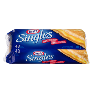 Cheese, Singles Thin (900 g) - Kraft