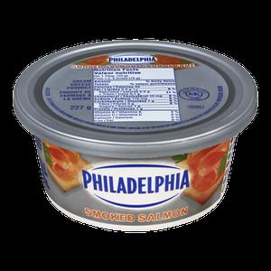Soft Cream Cheese, Smoked Salmon (227 g) - Philadelphia
