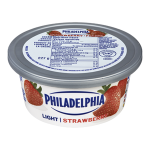 Soft Cream Cheese, Light Strawberry (227 g) - Philadelphia