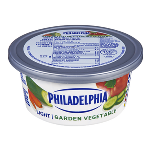 Soft Cream Cheese, Light Garden Vegetable (227 g) - Philadelphia