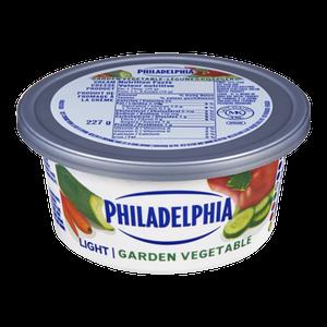 Soft Cream Cheese, Light Garden Vegetable (227 g) - Philadelphia