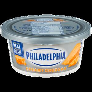 Soft Cream Cheese, Creamy Cheddar (227 g) - Philadelphia