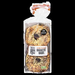 Sesame Baguette Bagel (300 g) - ACE BAKERY