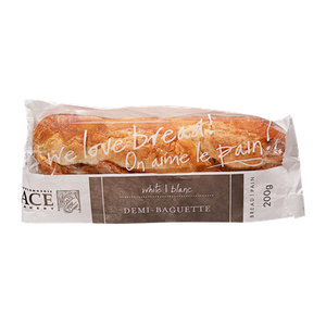 Demi-Baguette, White (200 g) - ACE BAKERY