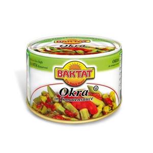 Okra in Tomato Sauce 350g - Baktat