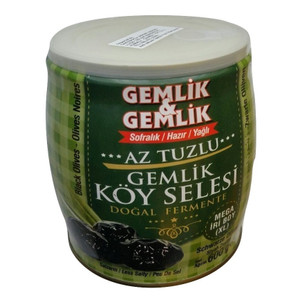 Exclusive Black Olives in Oil (XL) - Gemlik