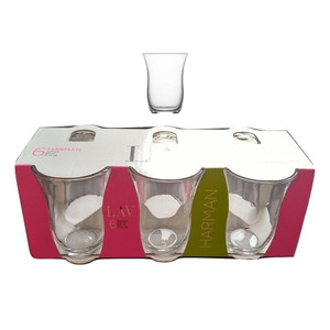 Tea Glasses Set of 6 Gift Box - Lav