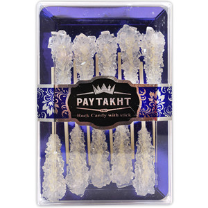 Rock Candy White Sticks 200g - Nabat - Paytakht