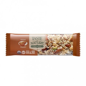 Organic Bar Almond 40g - Taste Of Nature