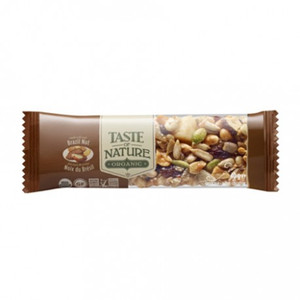 Organic Bar Brazil Nut 40g - Taste Of Nature