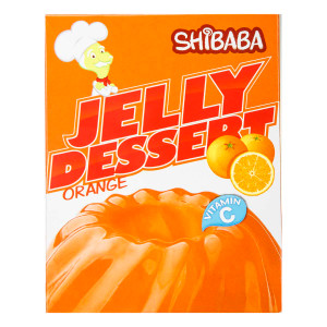 Halal Jelly Powder Orange 100 g - Shibaba
