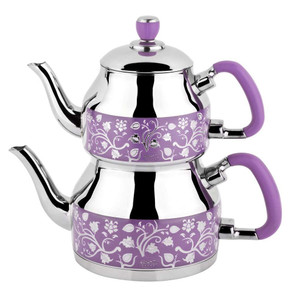 Stainless Steel Teapot and Kettle Set K-333 - Ozkent
