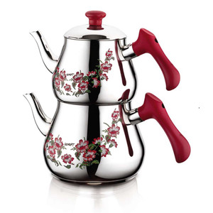 Stainless Steel Teapot and Kettle Set K-346 - Ozkent