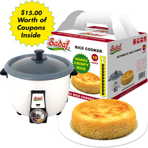 Automatic Rice Cooker 1.8 L - 10 Cups - Sadaf