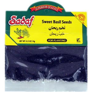 Sweet Basil Seeds 0.5 oz. - Sadaf