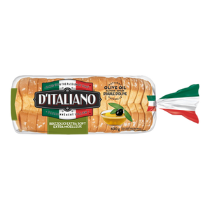 Thick Slice Bread, Brizzolio (600 g) - d'Italiano