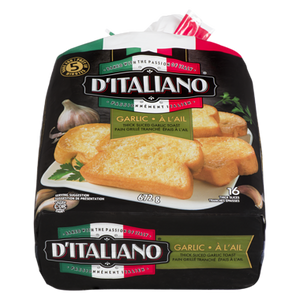 Bake At Home Garlic Toast (672 g) - d'Italiano