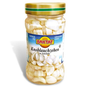 Pickled Garlic Cloves 330gr - Baktat