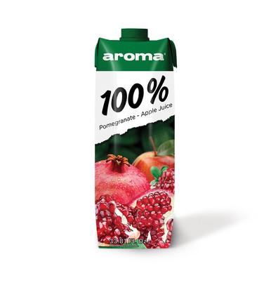 100% Fruıt Juıce Blend Pomegranate – Apple 1L - Aroma