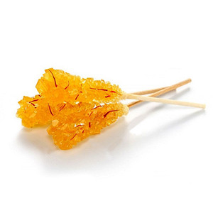 Saffron Rock Candy Sticks 10Pcs (Nabat)