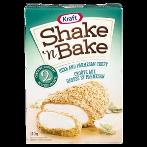 Shake'N Bake, Classic Herb & Parmesan (140 g) - SHAKE N BAKE