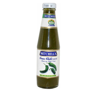 Green Chilli Sauce 300 gr - Mitchell's