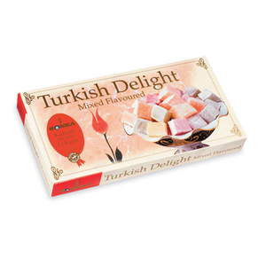 Mixed Flavoured Turkish Delight 500gr - Koska