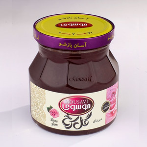 Rose Jam 320g - Mousavi