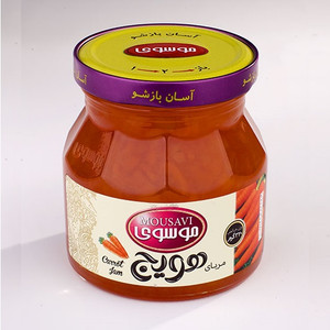 Carrot Jam 320g - Mousavi