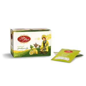 Lime Green Tea Bag 20 Envelopee - Sahar Khiz