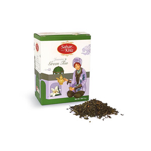 Jasmine Green Tea Leaf 100gr - Sahar Khiz