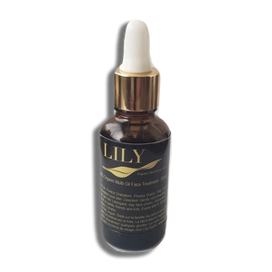 Organic Multi Oil Face Treatment / Serum 30ml - Lily Organic